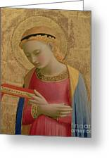 Virgin Annunciate Greeting Card by Fra Angelico