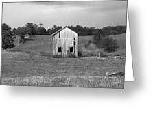 Virginia Shed Greeting Card by Michael L Kimble
