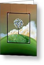 Virtue Greeting Card by Cindy Thornton