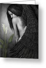 Visible Darkness Greeting Card by Pat Erickson