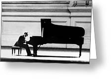 VLADIMIR HOROWITZ Greeting Card by Granger