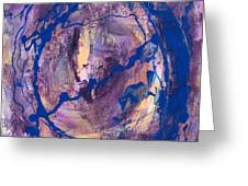 VORTEX Greeting Card by Mordecai Colodner