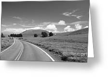 Waimea Ranchland Greeting Card by Bob Abraham - Printscapes