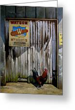 Waiting For Watson 2 Greeting Card by Doug Strickland