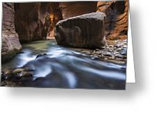 Wall Street Greeting Card by Joseph Rossbach