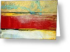 Wall Strip Greeting Card by Ray Laskowitz - Printscapes