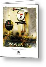 Walsh's Greeting Card by Bob Salo