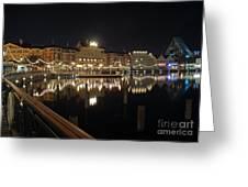 Walt Disney World - Boardwalk Villas  Greeting Card by AK Photography