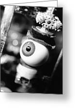 Watching You Greeting Card by Jeff Ball
