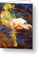 Water Dance 2 Greeting Card by Kelly McNeil