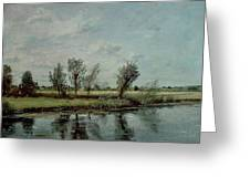 Water Meadows near Salisbury Greeting Card by John Constable