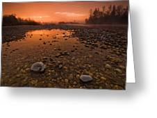 Water On Mars Greeting Card by Davorin Mance