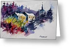 Watercolor 231207 Greeting Card by Pol Ledent