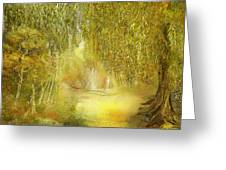 Way Of Thoughts Greeting Card by Anne Weirich