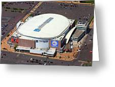 Wells Fargo Center 3601 South Broad St Philadelphia Pa 19148 Greeting Card by Duncan Pearson