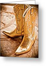 Western Wear Greeting Card by Jill Smith