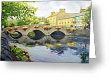 Westport Bridge County Mayo Greeting Card by Conor McGuire