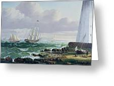 Whalers Coming Home Greeting Card by American School
