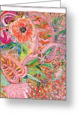 What Makes You Happy Greeting Card by Anne-Elizabeth Whiteway