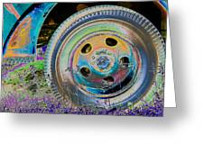 Wheel Greeting Card by Julie Niemela