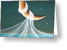 When The Wind Blows Greeting Card by Cindy Thornton