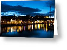 Whitby Eve Greeting Card by Svetlana Sewell