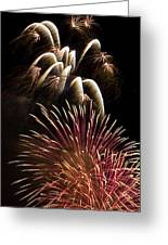 White Trails Greeting Card by David Patterson
