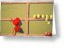 Whose Red Bra. Greeting Card by Tautvydas Davainis