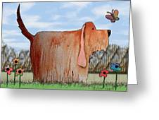 Wilbur Greeting Card by Arline Wagner