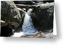 Wild Basin Waterfall Greeting Card by Brent Parks