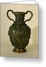 Wildflower Vase Balsamroot Side Greeting Card by Dawn Senior-Trask