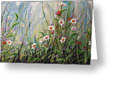 Wildflowers Greeting Card by Dee Carpenter