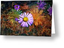 Wildflowers Greeting Card by Ed Hall