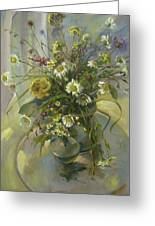 Wildflowers Greeting Card by Tigran Ghulyan