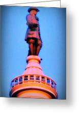 William Penn - City Hall In Philadelphia Greeting Card by Bill Cannon