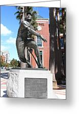 Willie Mays At San Francisco Giants Att Park . 7d7636 Greeting Card by Wingsdomain Art and Photography