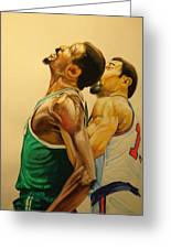 Wilt  Greeting Card by Keith Hancock