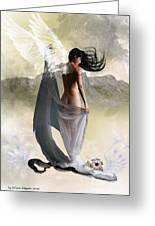 Wind Swept Greeting Card by Crispin  Delgado