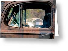 Window In Rural America Greeting Card by Steven  Digman