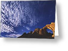 Window Rock, Arizona Greeting Card by Dawn Kish