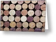 Wine Corks  Greeting Card by Jane Rix