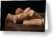 Wine Corks Greeting Card by Tom Mc Nemar