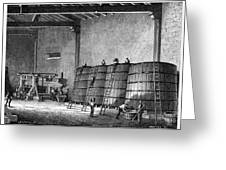 Wine Production, 19th Century Greeting Card by Cci Archives