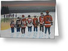 Winter Classic 2012 Greeting Card by Ron  Genest