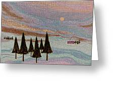 Winter Dream Greeting Card by Gordon Beck