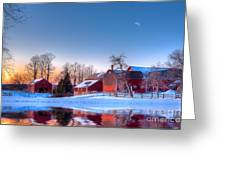 Winter In New England Greeting Card by Michael Petrizzo