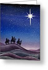 Wise Men Greeting Card by Christina Meeusen