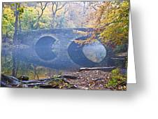 Wissahickon Creek At Bells Mill Rd. Greeting Card by Bill Cannon