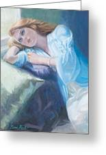 Wistful Greeting Card by Sarah Parks