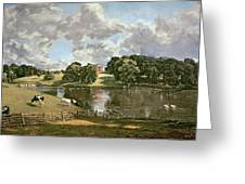 Wivenhoe Park Greeting Card by John Constable